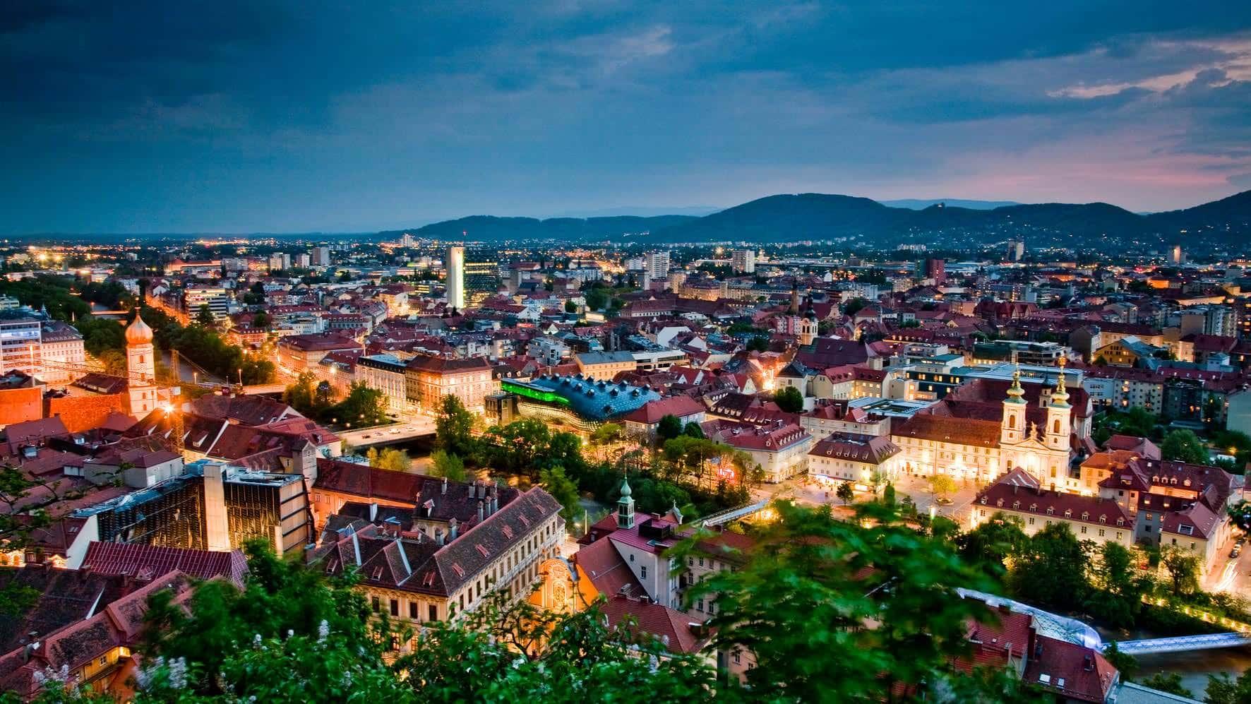 Dachlandschaft (c) Graz Tourismus - Werner Krug